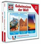 """Was ist was 3-CD-Hörspielbox """"Geheimnisse der Welt"""" von Kurt Haderer und Manfred Baur (2014)"""