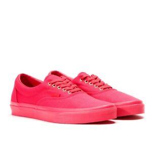 the latest 2de93 dd73d Details about Vans Unisex Kids' Era Low-Top Crimson Sneakers