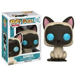 Funko-Pop-Vinyl-Siamese-Cat-13-Pets-Kitty-Kitten-Figure-New-in-Box-POP