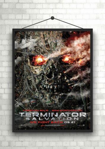 Terminator Salvation Classic Movie Poster Art Print A0 A1 A2 A3 A4 Maxi