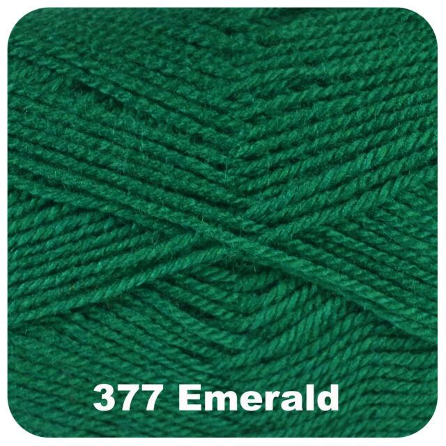 Cygnet Chunky Knitting Yarn 100g 100/% Acrylic 365 Turquoise