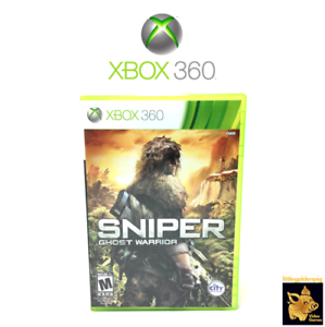 Sniper-Ghost-Warrior-2010-Xbox-360-Video-Game-Disc-Case-Manual-Tested-Works