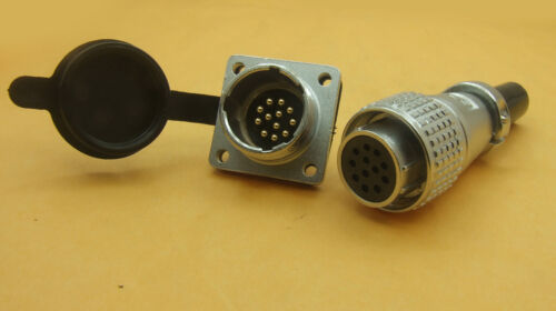 set PLS 20mm Circular 8Pin//9pin//12pin Aviation Plug 250 Volts Rated Plug Socket