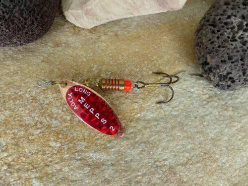 Spinner Mepps Aglia longue redbo RAME spinnfischen a pesca