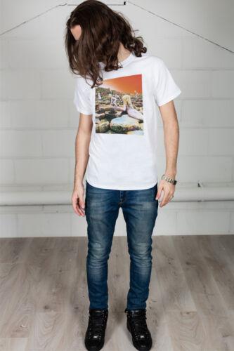 Officiel led zeppelin blanc hoth album cover unisexe t-shirt licensed merch usa
