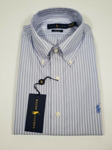 New Authentic Polo Ralph Lauren Men's Classic Fit Easy Care Dress Shirt Sale by Polo Ralph Lauren