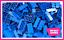 LEGO-Brique-Bundle-25-pieces-Taille-2x4-Choisir-Votre-Couleur miniature 3