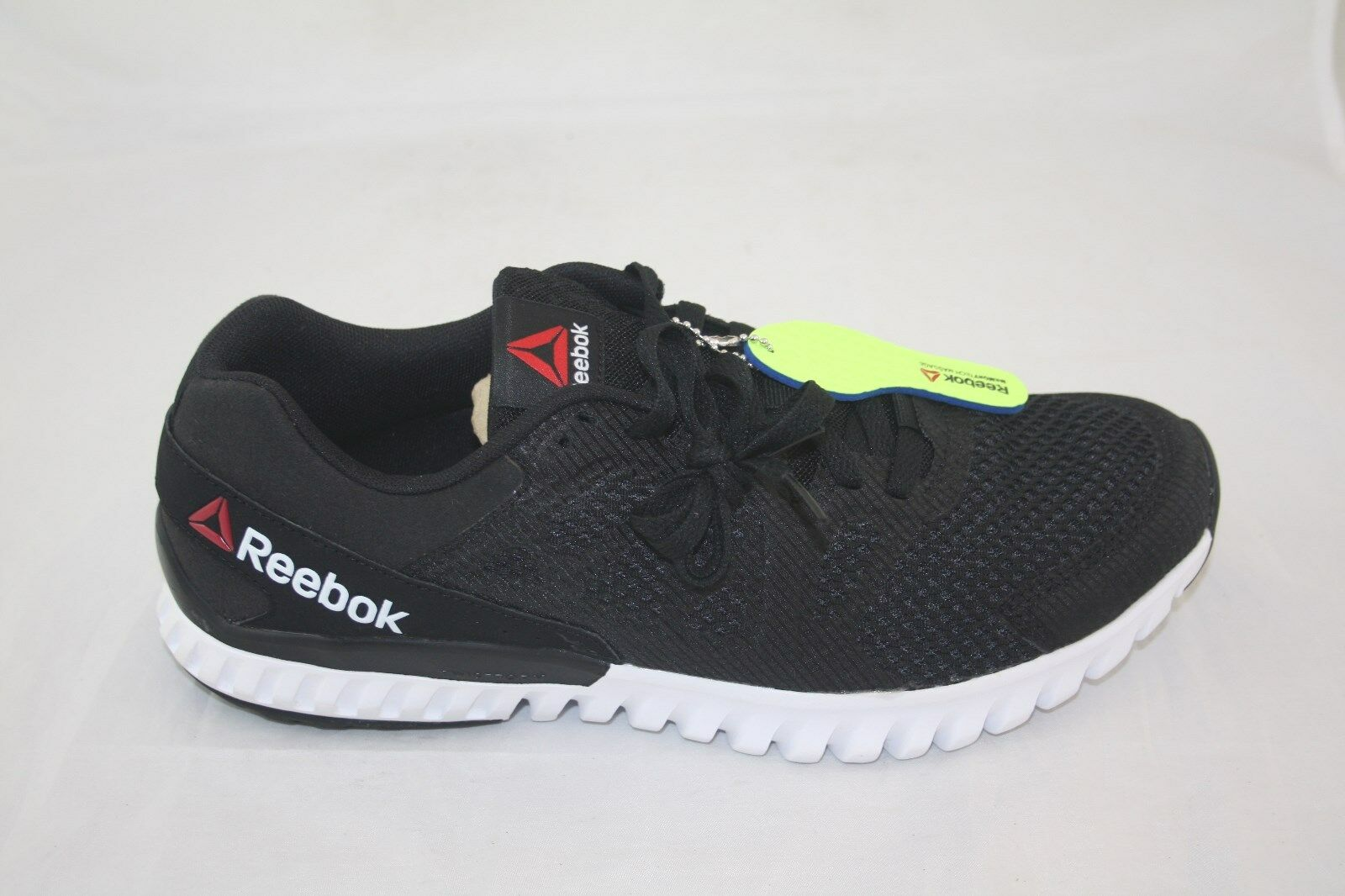 nuova reebok twistform blaze 2.0 uomini ar2960 nero / bianco / carbone scarpe da corsa