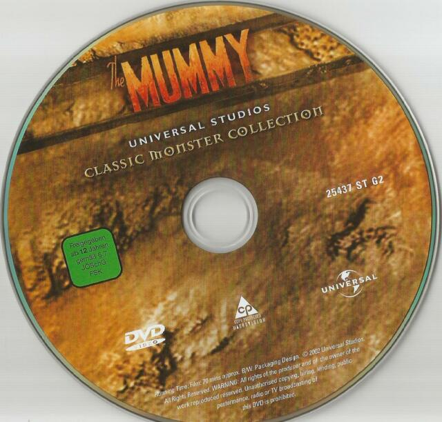 Classic Monster Collection: Die Mumie -  DVD - ohne Cover 1021