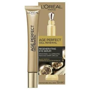 New-Loreal-age-perfect-cell-renewal-regenerating-eye-serum-15ml-Skincare-Beauty