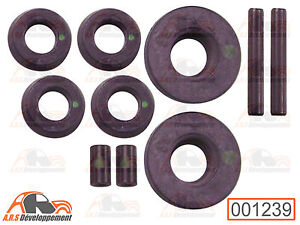 20 xuniversal ford Opel TORX tornillos torque screw con anillo tórico w503524s424