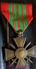 DEC3568 - CROIX DE GUERRE 1939 - FRENCH WAR CROSS MEDAL