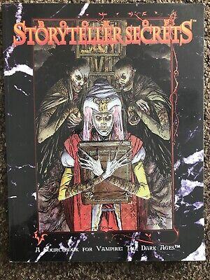 Bellissimo Libro Di Cantastorie Segreti-vampiri I Secoli Bui-mostra Il Titolo Originale