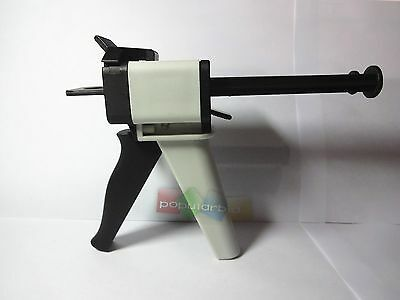 1:1 Ratio Dental Impression Mixing Dispenser Gun  50ml