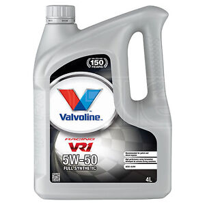 445e092d58639e Image is loading Valvoline-VR1-Racing-5W-50-Premium-Synthetic-5W50-