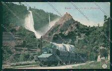 Terni Cascata Marmore Alterocca 5554 Treno cartolina QK4561