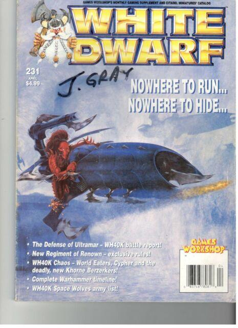 Games Workshop White Dwarf Monthly Magazine #220