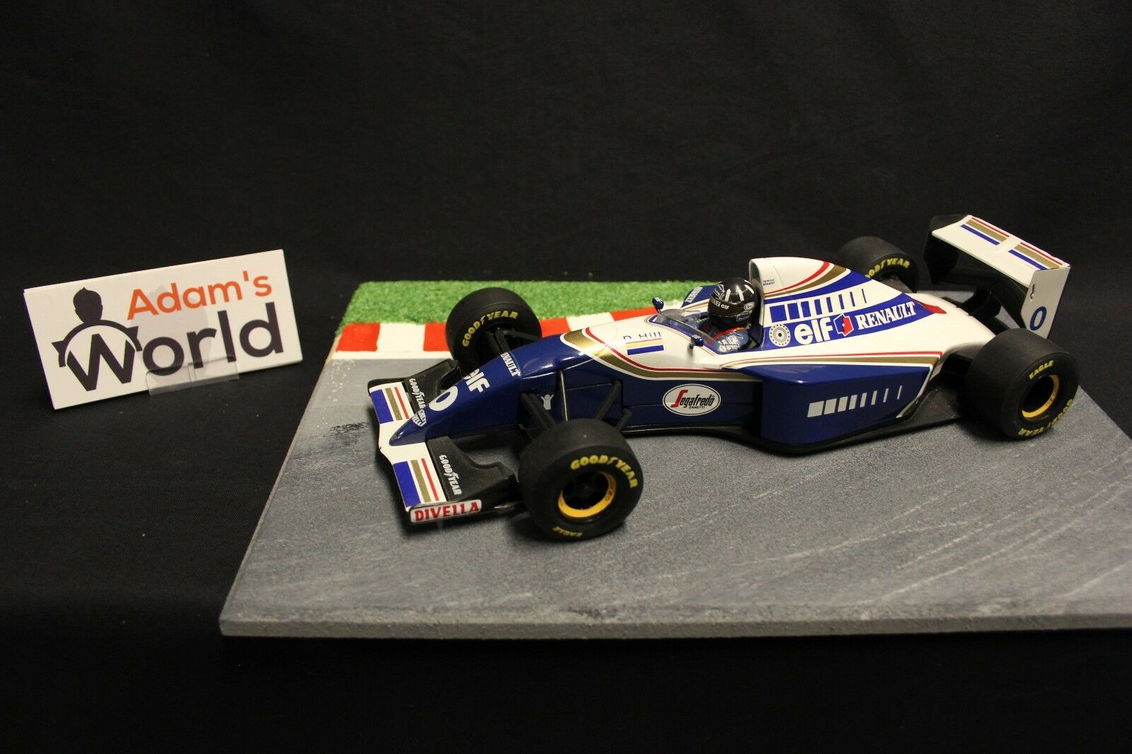 Minichamps Williams Renault FW16 1994 1 18 Damon Hill (GBR) (F1NB)