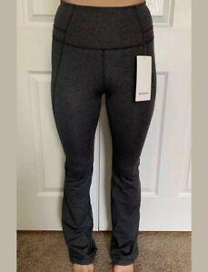 Lululemon Size 4 Groove Pant Flare Gray