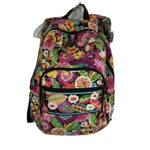 Vera-Bradley-Backpack-Va-Va-Bloom-Floral-Quilted