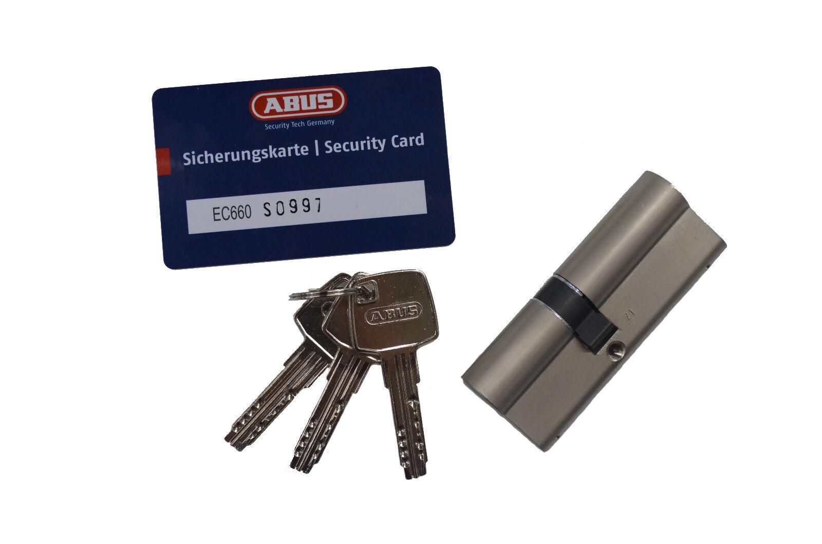 ABUS EC660 Türzylinder Schließzylinder Schließanlage 30 60mm SKG  | Verrückter Preis  | Qualitätsprodukte  | Viele Stile  | Spezielle Funktion