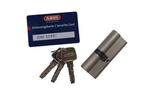 ABUS EC660 Türzylinder Schließzylinder Schließanlage 30//45mm SKG**