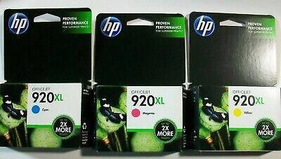 HP #920XL Cyan Ink Cartridge CD972AN GENUINE NEW