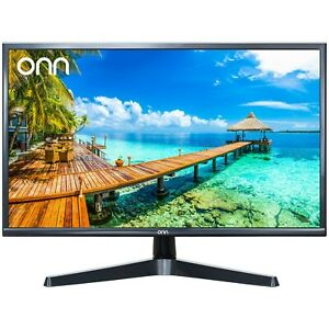 ONN 24 inch Computer Monitor Full HD LED Slim Design HDMI and VGA-ONA24HB19T