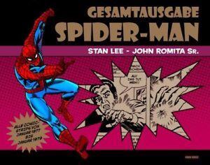 SPIDER-MAN-NEWSPAPER-STRIPS-1-2-HC-GESAMTAUSGABE-deutsch-STAN-LEE-JOHN-ROMITA-SR