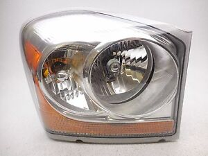 Oem 2007 2009 Dodge Durango Right Headlamp Reflector Cracked Ebay