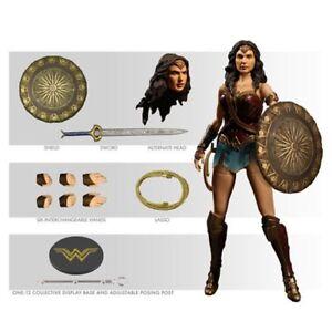 Mezco Toyz Wonder Woman Film Un: 12 Figurine Collective Dc Comics 696198765502