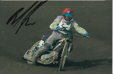 PAUL COOPER HAND SIGNED SCUNTHORPE SCORPIONS SPEEDWAY 6X4 PHOTO 21.