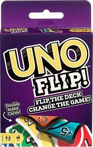 Mattel-Games-GDR44-Flip-Card-Game-Multi-colored-Exciting-New-Twists-From-Uno