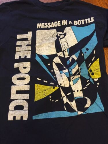 Junior's A Message Size Graphic In Bottle shirt S Police T The t4Cqw8c