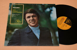 ADAMO-LP-NON-VOGLIO-NASCONDERMI-EMIDISC-1970-TOP-EX