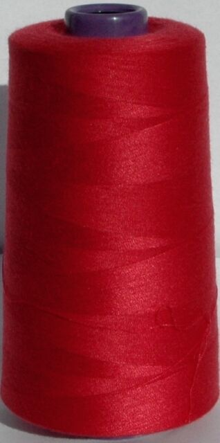 OVERLOCKER SEWING MACHINE THREAD 5000mtr POLYESTER LOTS OF COLOURS Top Quality