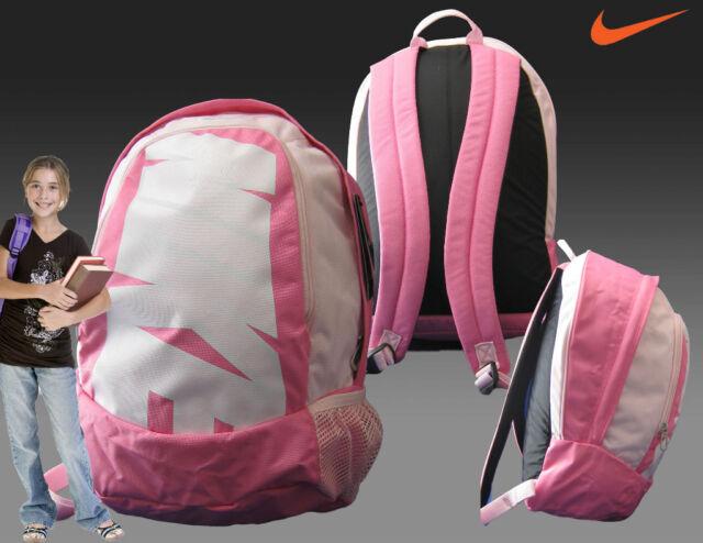0af3a7241160 New NIKE WOMENS GIRLS BACKPACK SCHOOL GYM SPORTS BAG Pink + Adidas WALLET