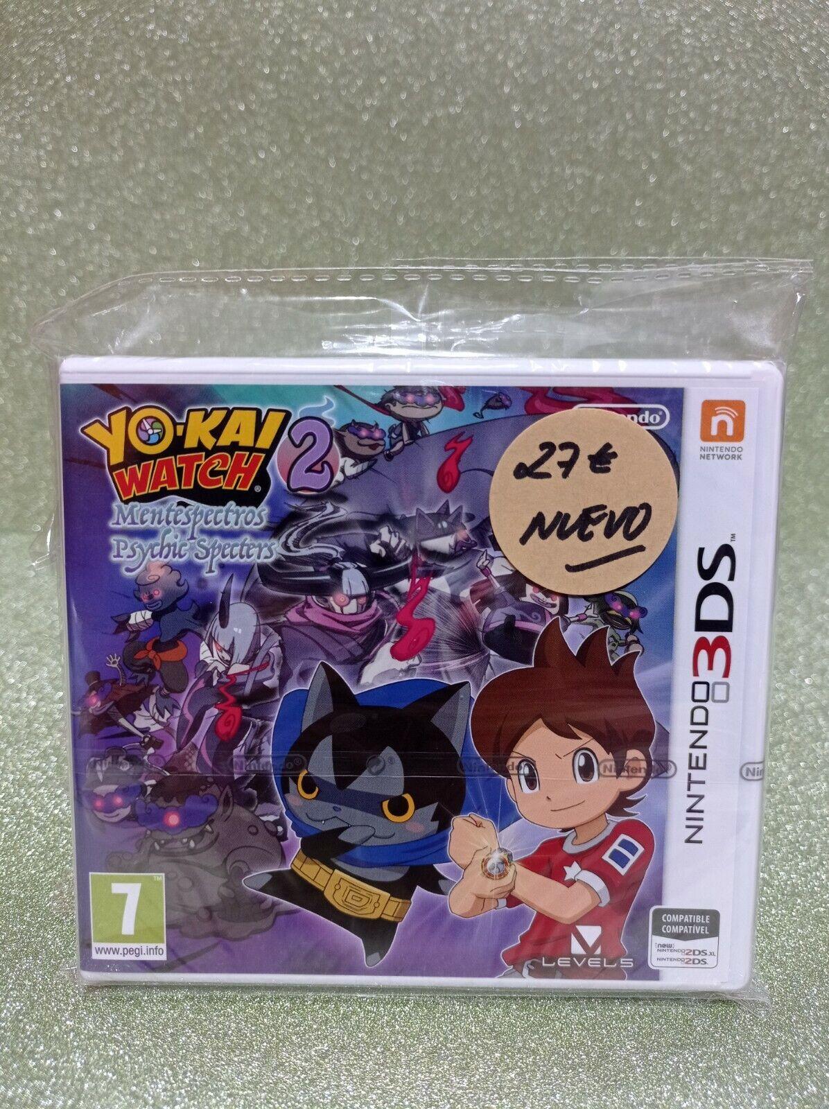 JUEGO NINTENDO 3DS - YO-KAI 2 WATCH MENTESPECTROS PSYCHIC SPECTERS