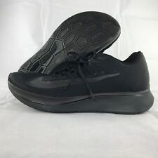 huge selection of 1c477 245f5 Nike Zoom Fly Triple Black Anthracite Running Shoes 880848-003 Mens ...