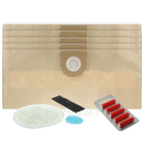 5 VAX Vacuum Cleaner Bags /& Filter Kit S6254 V100 /& V100X Pro V1050 V1100 V1200