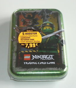 LEGO Ninjago Serie 3 Trading Card Game - Mini Tin Grün mit LE11 Neu & OVP