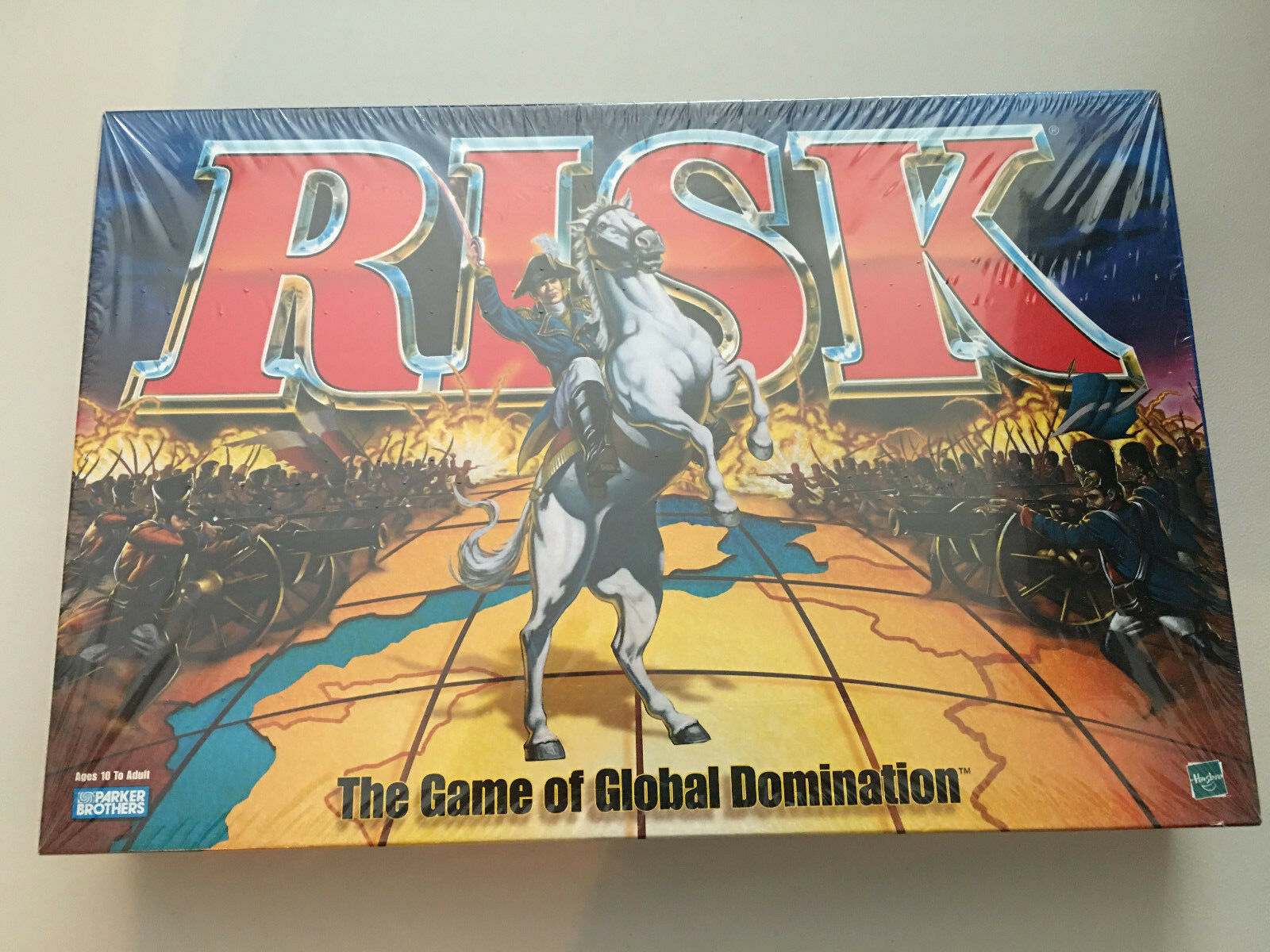 RISK jeu de plateau Global Domination Parker Brougehers BRAND NEW FACTORY SEALED  1998