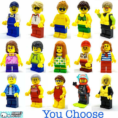 LEGO Business Minifigures Male and Females with Accessoires City Town