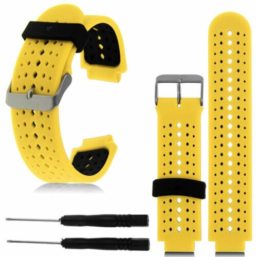 For Garmin Forerunner 220//230//235//630//620//35 Silicone Sports Band Strap
