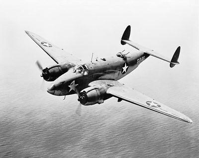 Vega Ventura Bomber Pv-1 Wwii 1943 11x14 Silber Halogen Fotodruck Transport