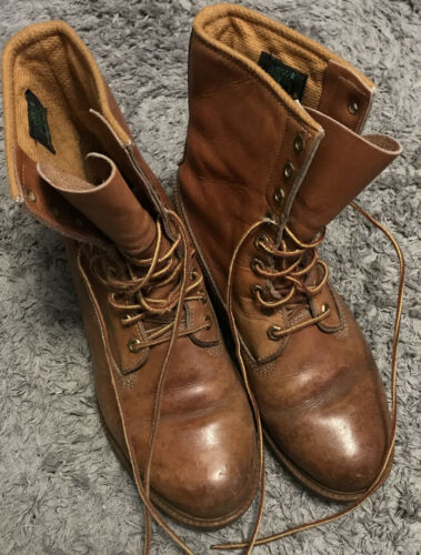 VINTAGE MEN'S TIMBERLAND CLASSIC BOOTS SIZE 9