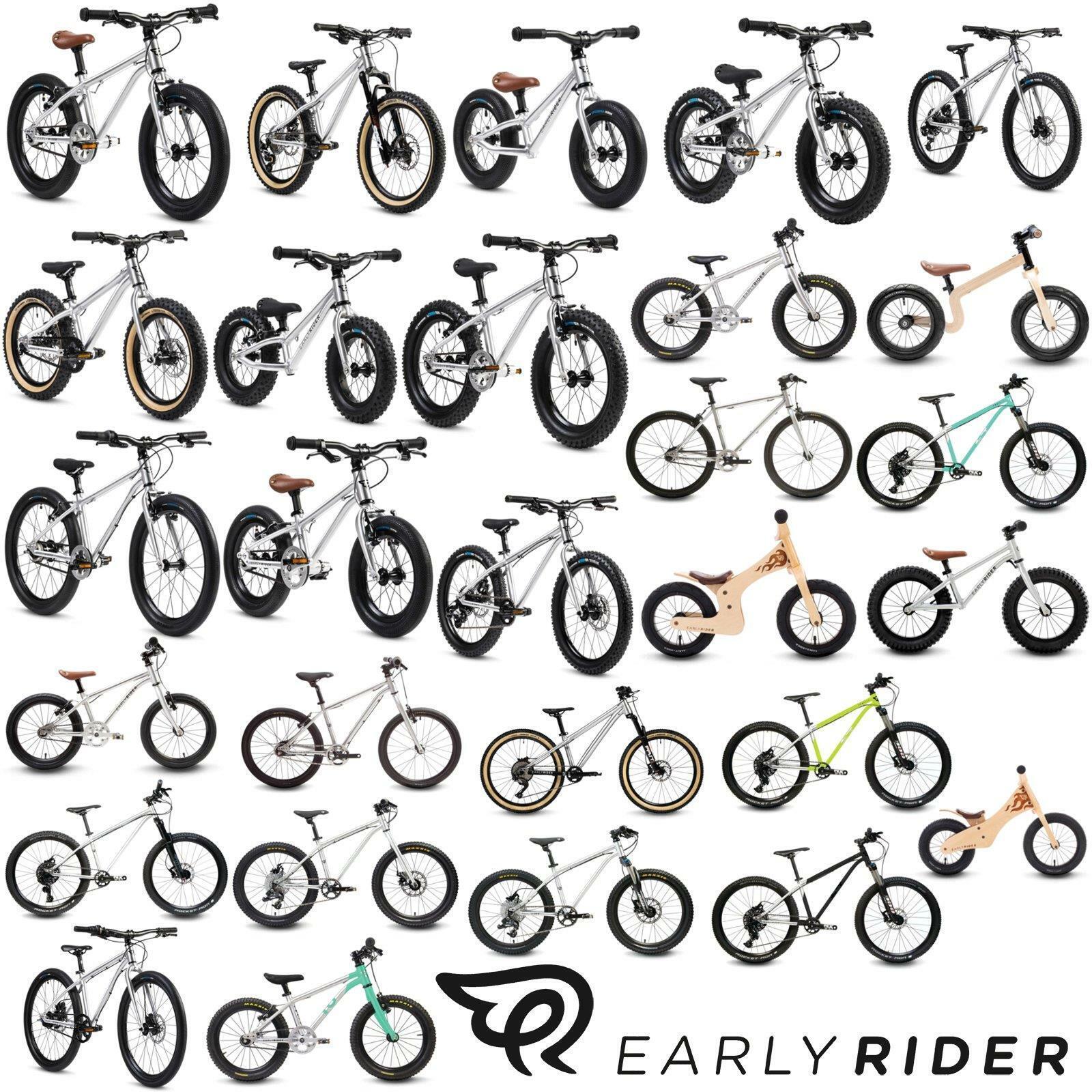 Early Rider Kinder Laufrad Fahrrad Jungen Mädchen Aluminium Holz 1 bis 8 Jahre