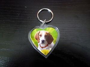 Foxhound-Gift-Keyring-Dog-Key-Ring-heart-shaped-gift-Xmas-Mothers-Day-Gift