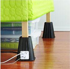 Item 1 Studio 3b 4 Piece Usb Bed Lift Set Risers Furniture Raise Heavy Storage