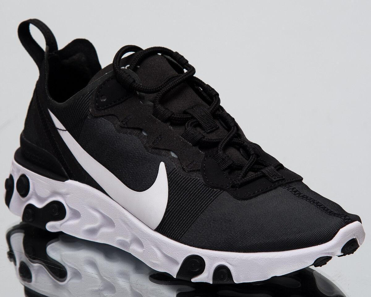 Nike Femme réagissent Element 55 nouveau Mode De Vie Chaussures Chaussures Chaussures Noir Blanc Baskets BQ2728-003 bed912